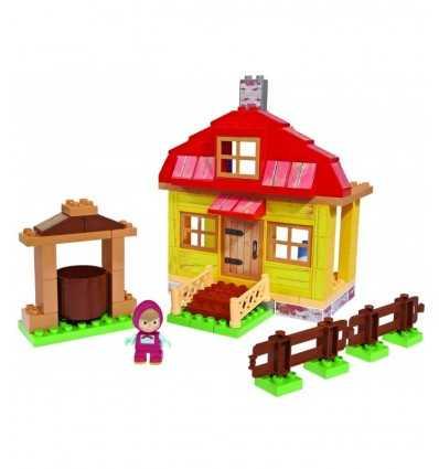 れんが造りの家プレイセット 95年個マーシャとベアー 800057096 Simba Toys- Futurartshop.com