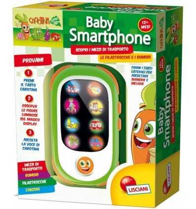 jeu de smartphone pour le bébé carotina 44177 Lisciani- Futurartshop.com