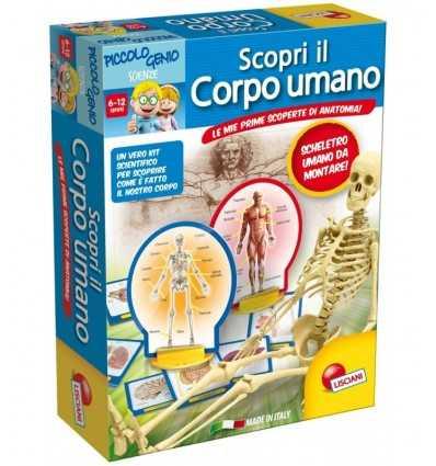 Zestaw naukowych odkryć ludzkiego ciała 48960 Lisciani- Futurartshop.com