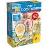 Das wissenschaftliche Kit entdecken den menschlichen Körper 48960 Lisciani- Futurartshop.com