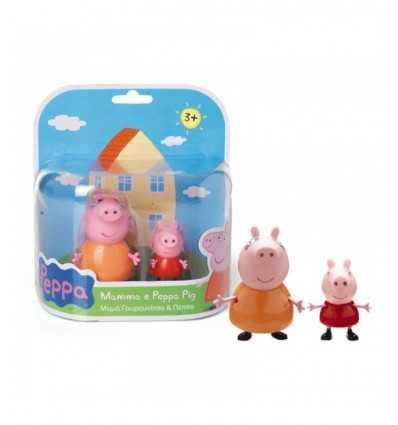 Personaggi coppia Peppa pig con mamma CCP01471 Giochi Preziosi-Futurartshop.com
