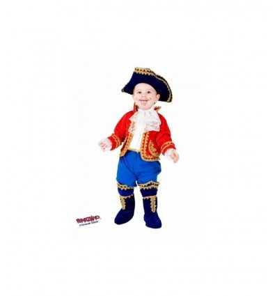 Petit Costume de carnaval capitaine Crochet 7703 Veneziano- Futurartshop.com