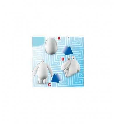 大きい英雄 6 白 baymax 変換 GPZ38671/39342 Giochi Preziosi- Futurartshop.com