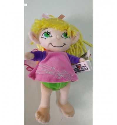 Plysch BA 24 cm med farfallina rosa klänning 720662/ROS Lelly- Futurartshop.com