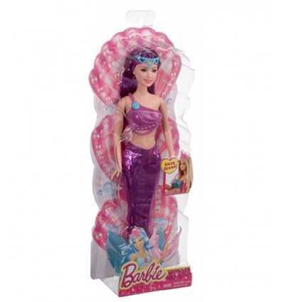 Mix & Match barbie sirena colore viola CFF28/CFF30 Mattel-Futurartshop.com
