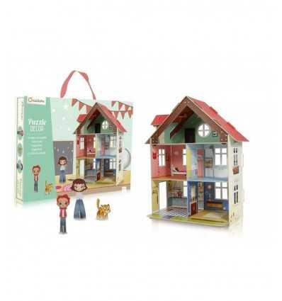 3D pussel Dollhouse PU001O Avenue Mandarine- Futurartshop.com