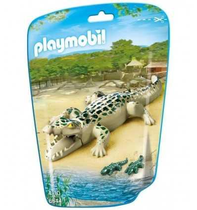 Alligatore con Cuccioli in bustina 6644 Playmobil-Futurartshop.com