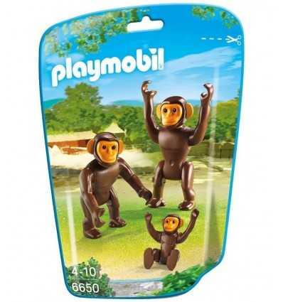 Schimpans familj i väska 6650 Playmobil- Futurartshop.com