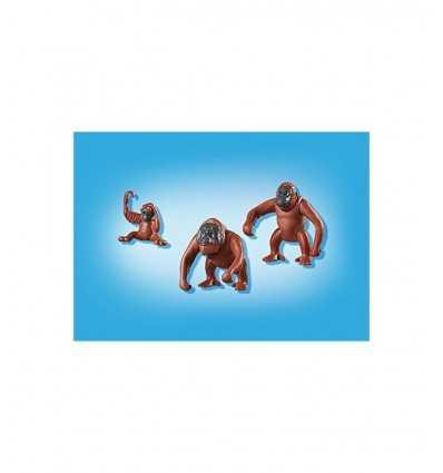 Familj av orangutanger i påse 6648 Playmobil- Futurartshop.com