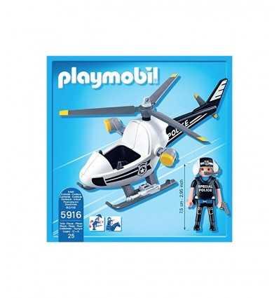 Helicóptero de la policía ultra ligero 5916 Playmobil- Futurartshop.com
