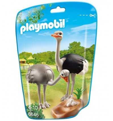 袋に巣をダチョウ 6646 Playmobil- Futurartshop.com