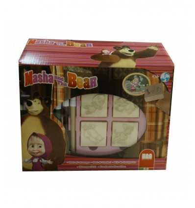 Petite maison estampage et Macha et l'ours à colorier 9906 Crayola- Futurartshop.com