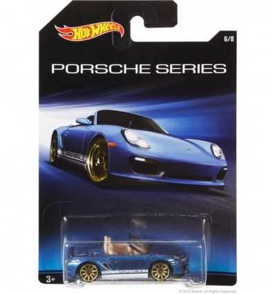 Hot Wheels Porsche Boxster Spyder blå CGB63/CGB70 Mattel- Futurartshop.com