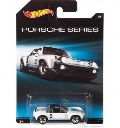 ホット ホイール ポルシェ 914 6 ホワイト CGB63/CGB65 Mattel- Futurartshop.com
