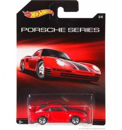 Hot Wheels Porsche 959 rosso CGB63/CGB68 Mattel-Futurartshop.com