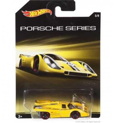 ホット ホイール黄色いポルシェ 917 k CGB63/CGB66 Mattel- Futurartshop.com