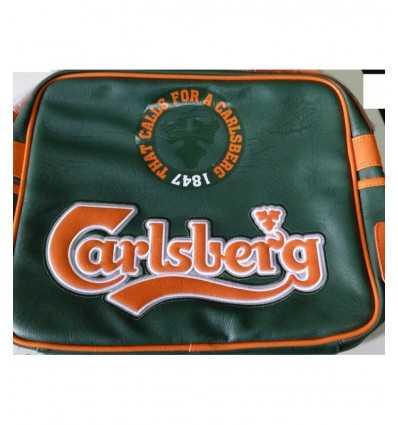 Sangle de Carlsberg Collège verte et orange 150551 Accademia- Futurartshop.com