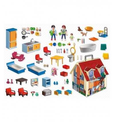 Maison de poupée portable 5167 Playmobil- Futurartshop.com