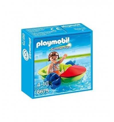 Mädchen mit Spaß Boot 6675 Playmobil- Futurartshop.com