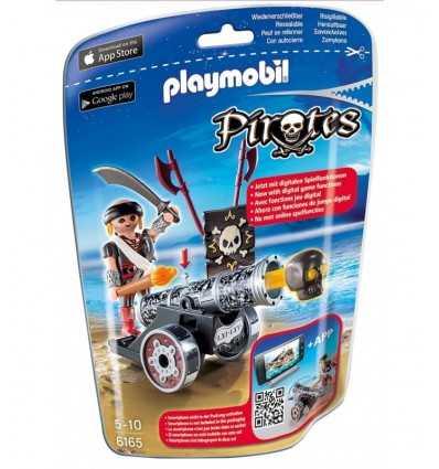 Playmobil Pirat mit Kanone 6165 Playmobil- Futurartshop.com