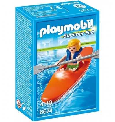 Playmobil kille med kanot 6674 Playmobil- Futurartshop.com