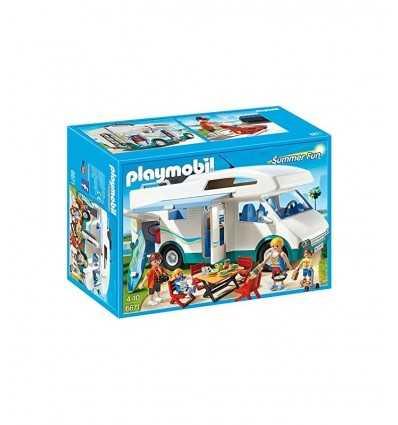 Playmobil caravana de temporadistas 6671 Playmobil- Futurartshop.com
