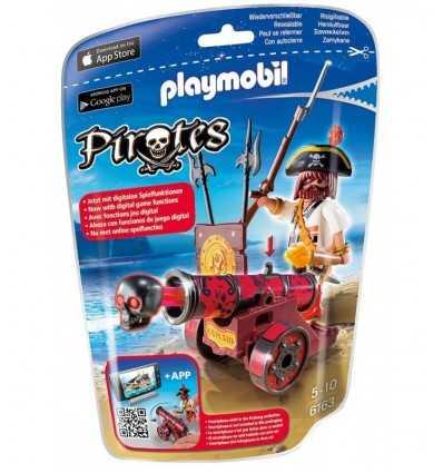 プレイモービル バッカニア赤い銃 6163 Playmobil- Futurartshop.com