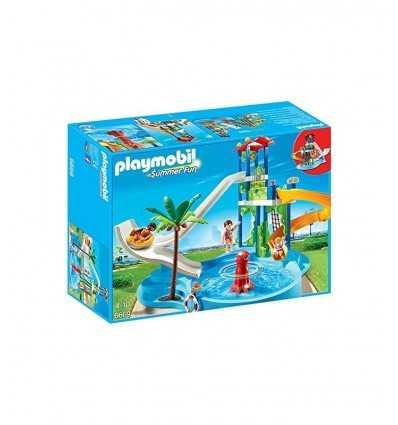 Playmobil Tower of slides with pool 6669 Playmobil- Futurartshop.com