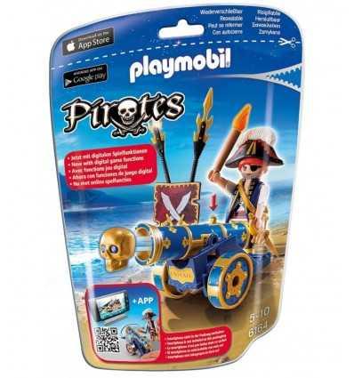 プレイモービル青い海賊銃 6164 Playmobil- Futurartshop.com