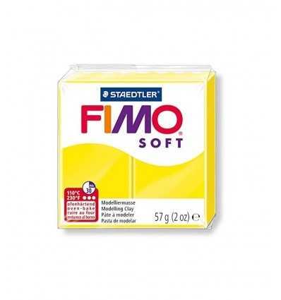 panetto fimo soft lemon yellow 10 ST802010 Staedtler- Futurartshop.com
