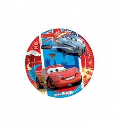 10 piatti cars 23 centimetri 02034 New Bama Party-Futurartshop.com
