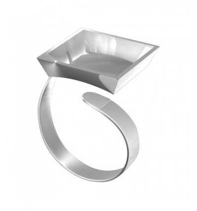 Фимо кольца ювелирные изделия Аксессуары квадратная рамка Staedtler- Futurartshop.com