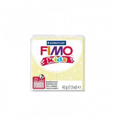 Fimo Knete Kinder gelb Chiaroperlato 42gr 0003625 Staedtler- Futurartshop.com