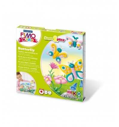 modelling paste Fimo skapa fjärilar 8034 10 LY Staedtler- Futurartshop.com