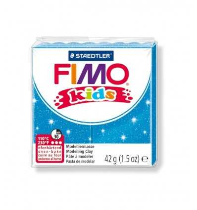 Fimo ciasta dzieci niebieski brokat 42gr 312 0003623 Staedtler- Futurartshop.com