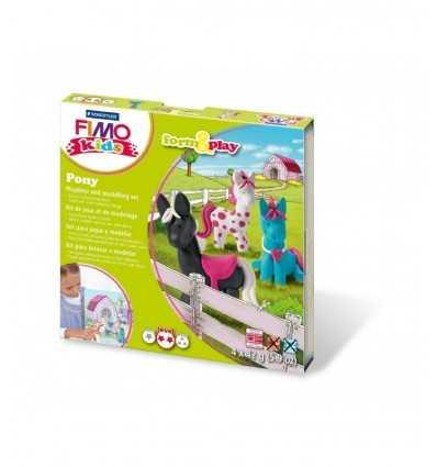 ポニーを作成貼り付け fimo のモデリング 8034 08 LY Staedtler- Futurartshop.com