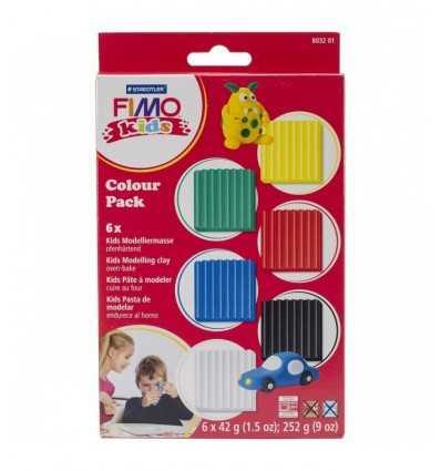 Fimo, моделирования основных теста набор детей 8032 01 Staedtler- Futurartshop.com