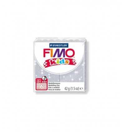 Fimo stick kids silver glitter 812 42gr. 0003624 Staedtler- Futurartshop.com