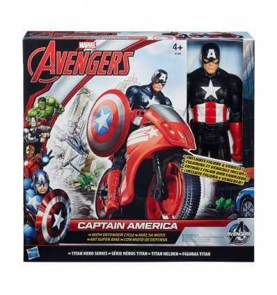 Мстители велосипед Титан супер герой капитан Америка. B0431EU40/B1492 Hasbro- Futurartshop.com