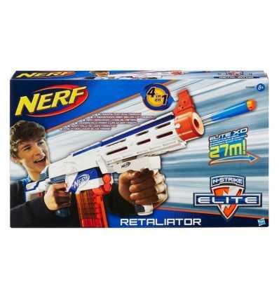 Blaster NERF n-strike elity Retaliator 98696E350 Hasbro- Futurartshop.com