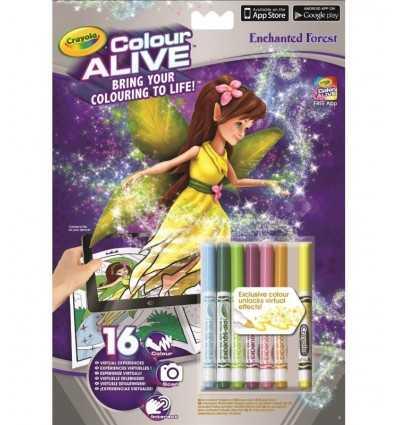 album color alive foresta incantata 95-1050 Crayola-Futurartshop.com