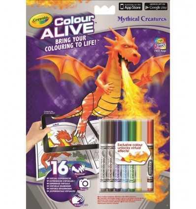 criaturas míticas álbum viva del color 95-1051 Crayola- Futurartshop.com