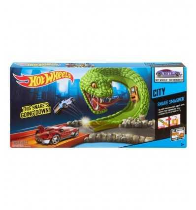 Hot Wheels spåra The Snake jaws X2604/BGJ01 Mattel- Futurartshop.com