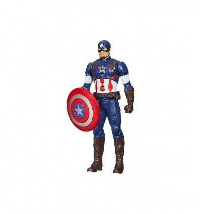 Personaggio Avenger Capitan America B1495ES00 Hasbro-Futurartshop.com