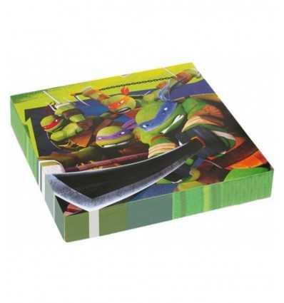 papier 20 serviettes Teenage Mutant ninja turtles CMG552467 Como Giochi - Futurartshop.com