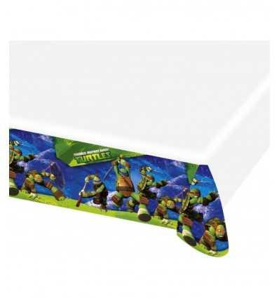tovaglia in pvc 120x180 centimetri tartarughe ninja CMG552468 Como Giochi -Futurartshop.com