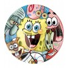 10 Piatti Spongebob 23 centimetri 110058 -Futurartshop.com