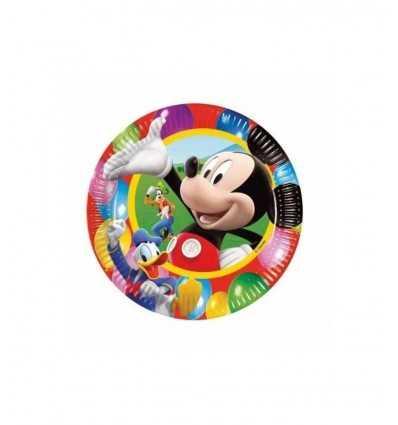 platos de 23 cm 10 Mickey Mouse 2110221A New Bama Party- Futurartshop.com