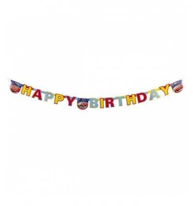 happy birthday written cars 2 15022013 New Bama Party- Futurartshop.com