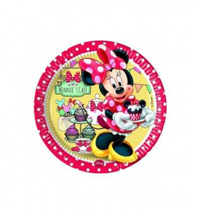 minnie 8 platos de 23 cm de Cafe 4122333B New Bama Party- Futurartshop.com